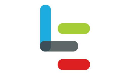 品牌logo中间交叠的圆点